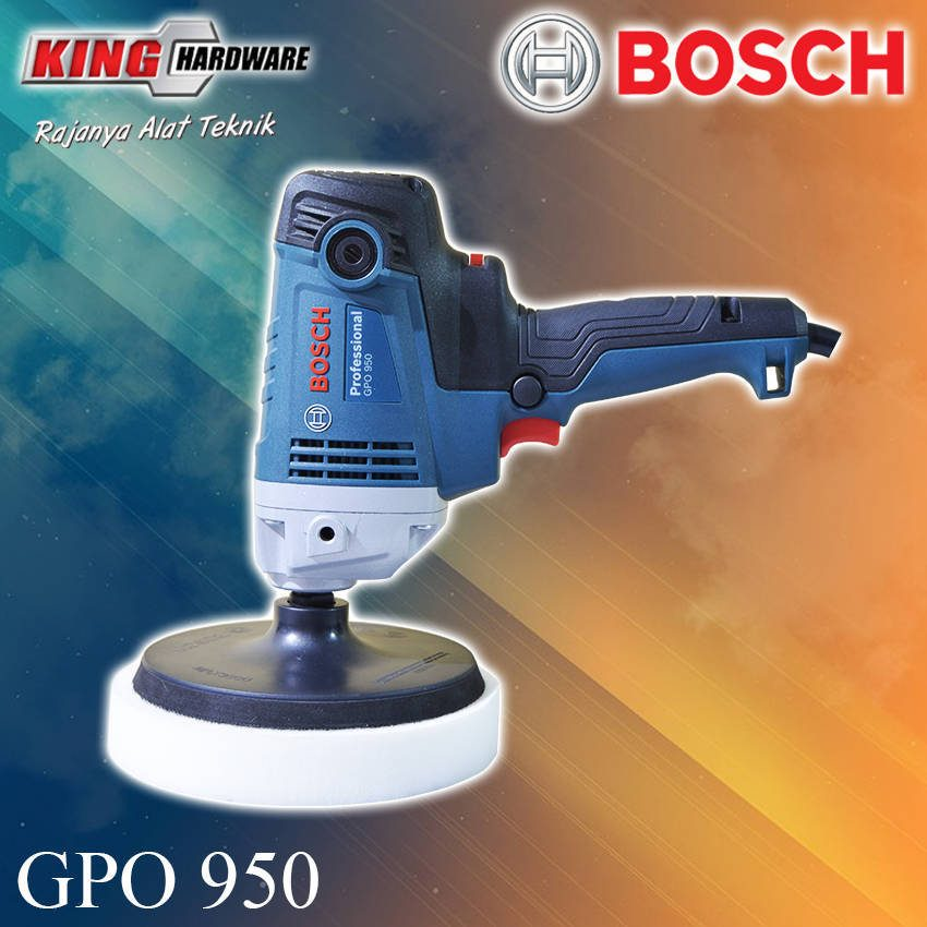 Mesin Poles / Polisher Bosch GPO 950