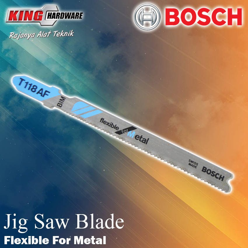 Mata Jig Saw T 118 AF Bosch Flexible For Metal