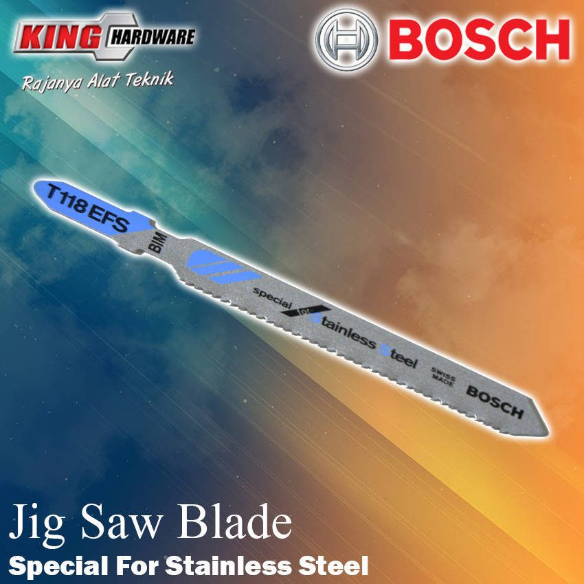 Mata Jig Saw T 118 EFS Bosch Special For Stainless