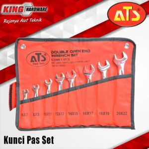Kunci Pas Set 8 Pcs ( 6 - 22 ) ATS