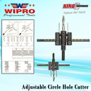 Adjustable Wipro Hole Cutter WP8347 120 MM