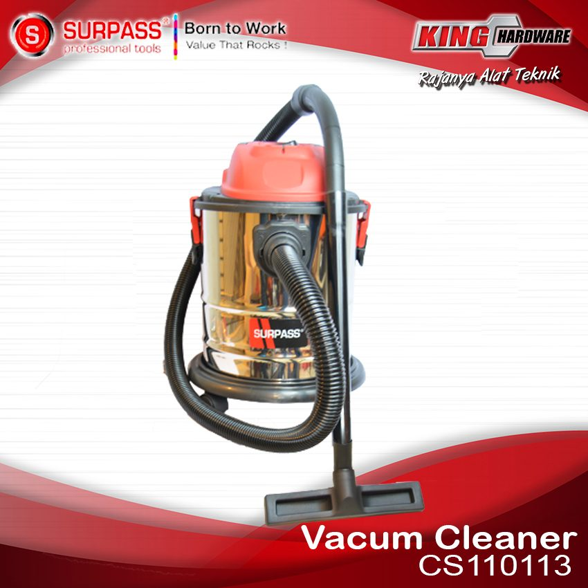 Vacum Cleaner Wet & Dry Surpass CS110112 20 Ltr