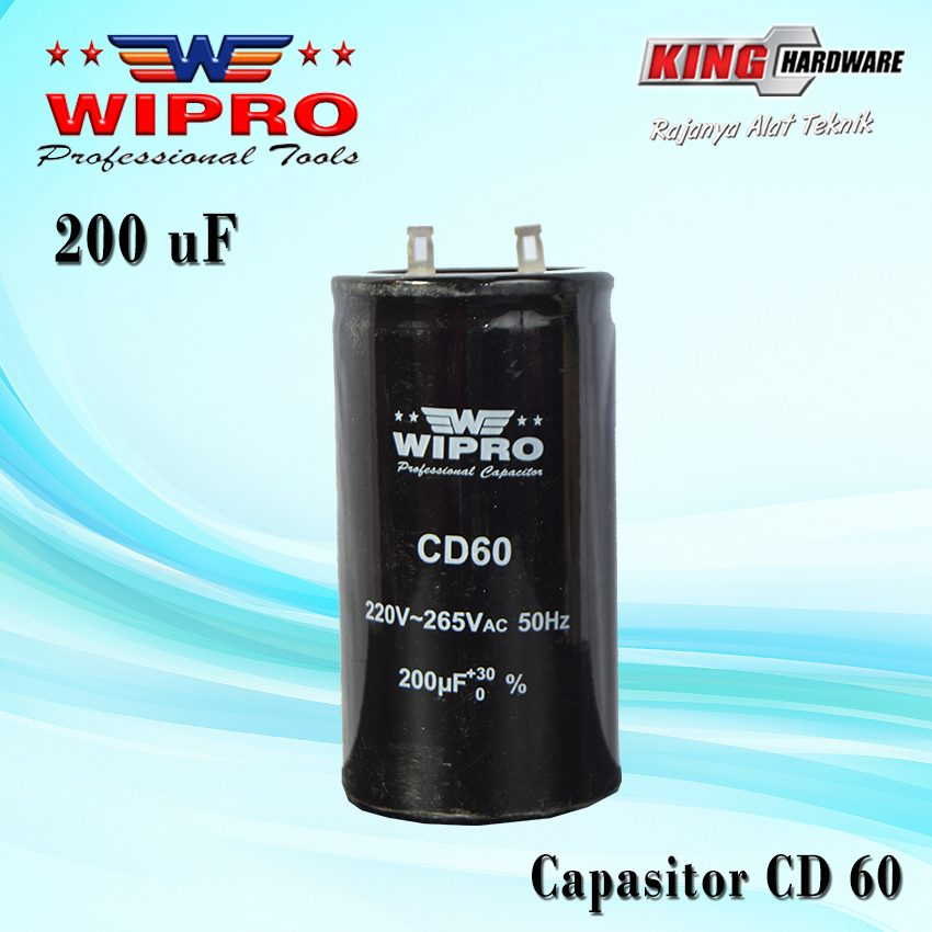 Capasitor Wipro CD 60 200 ʯF