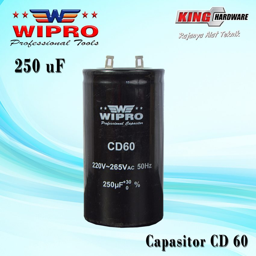 Capasitor Wipro CD 60 250 ʯF
