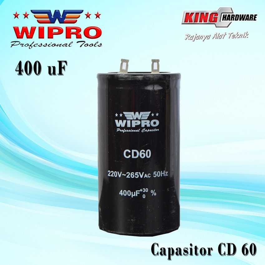 Capasitor Wipro CD 60 400 ʯF