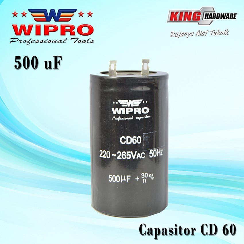 Capasitor Wipro CD 60 500 ʯF