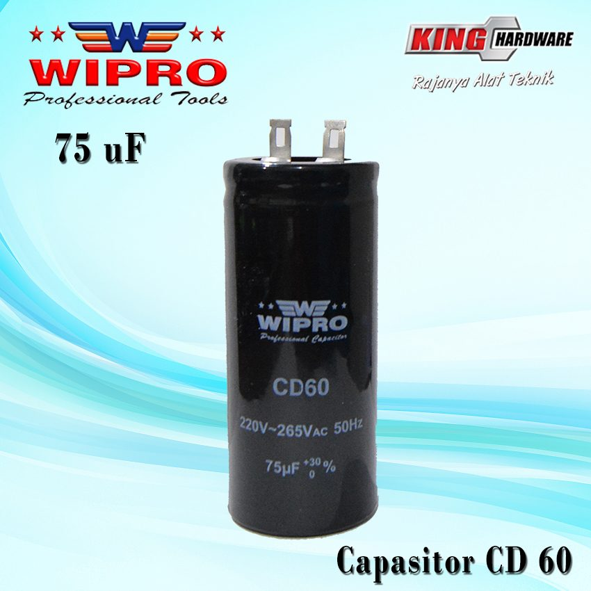 Capasitor Wipro CD 60 75 ʯF