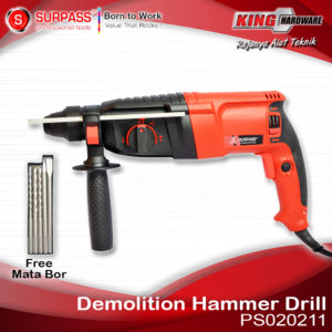 Mesin Bor Rotary Hammer Surpass PS020211