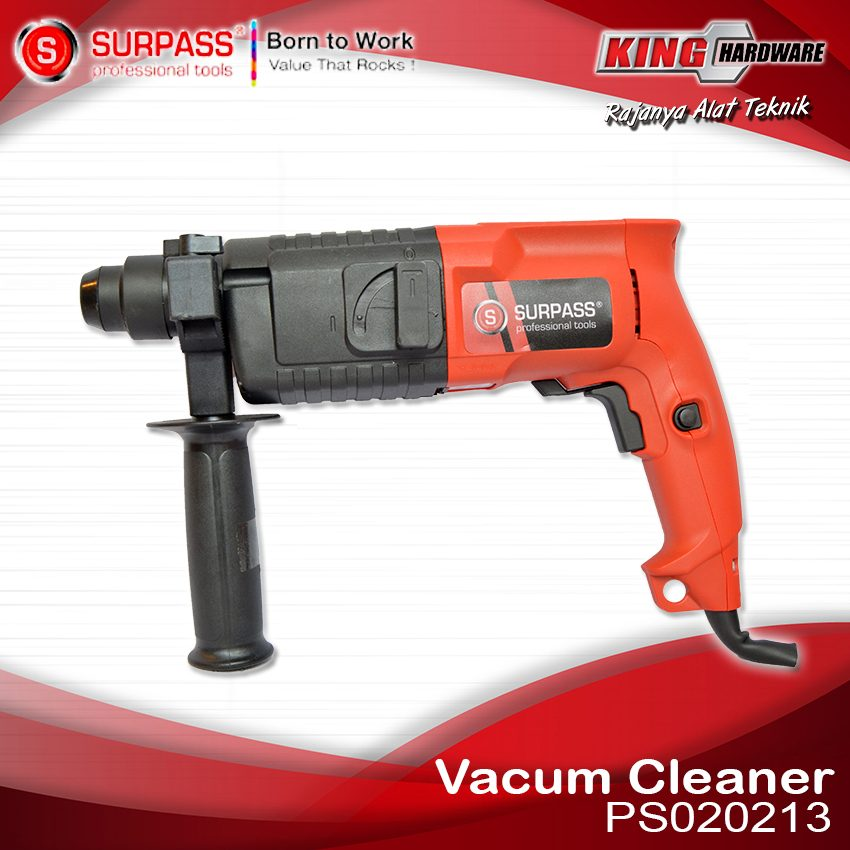 Mesin Bor Rotary Hammer Surpass PS020213