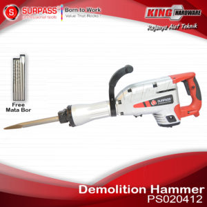 Mesin Bor Demolition Hammer Surpass PS020412