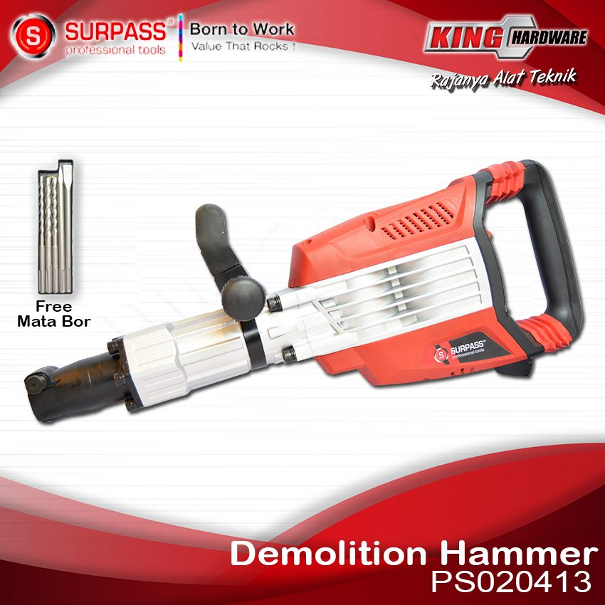 Mesin Bor Demolition Hammer Surpass PS020413