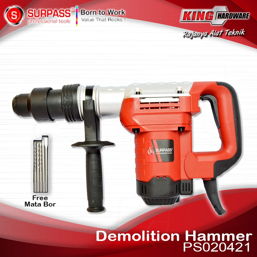Mesin Bor Rotary Hammer Surpass PS020421