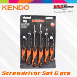 Obeng Set Kendo 6 Pcs (KD-85114)