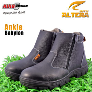 Sepatu Safety ALTERA Ankle Zipper Babylon No.42