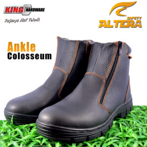 Sepatu Safety ALTERA Ankle Zipper Colosseum No.42