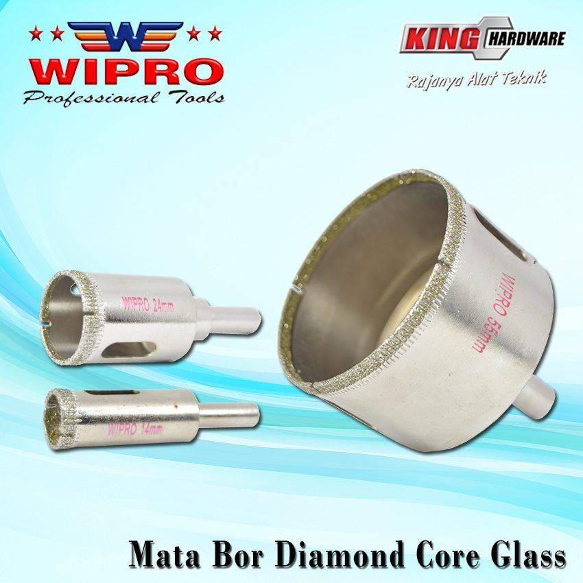 Mata Bor Diamond Core Glass Wipro 8 Mm