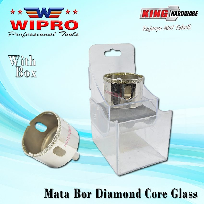 Mata Bor Diamond Core Glass Wipro 75 Mm