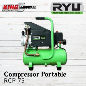 Compressor Portable RYU RCP 75 0,75 HP