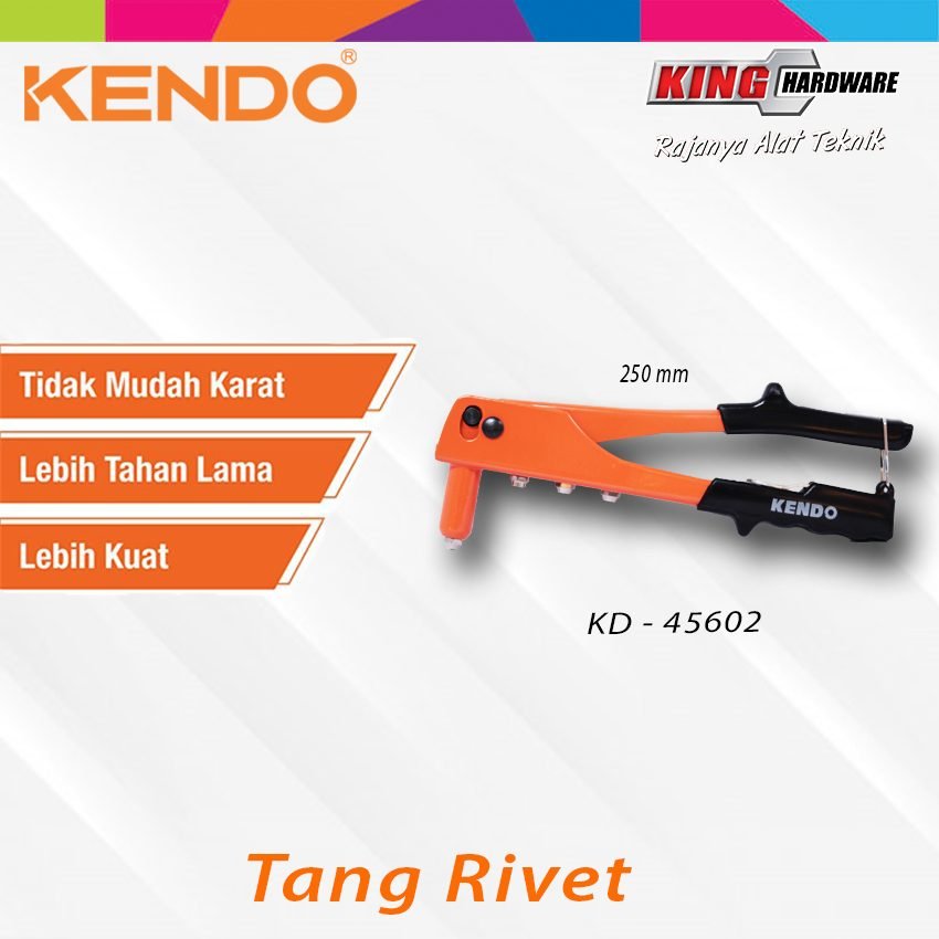 Tang Rivet Kendo 250 mm (KD-45602)