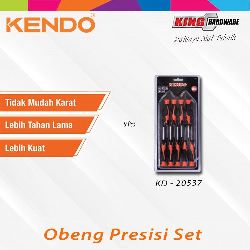 Obeng Presisi Set Kendo 9 Pcs (KD-20537)