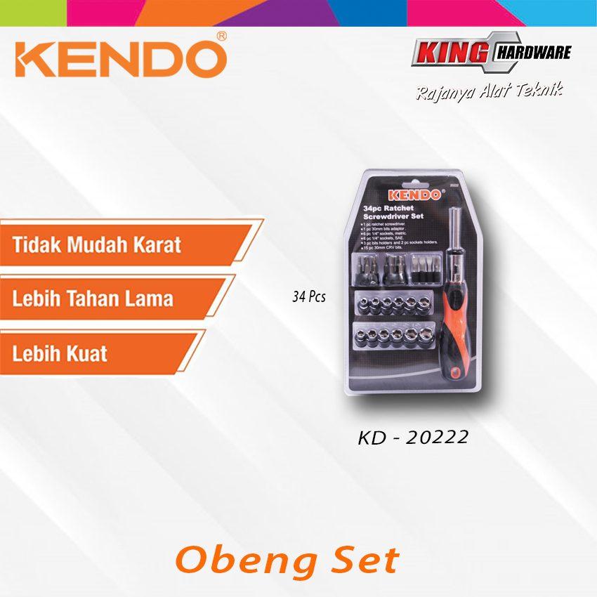 Obeng Set Kendo 34 Pcs (KD-20222)