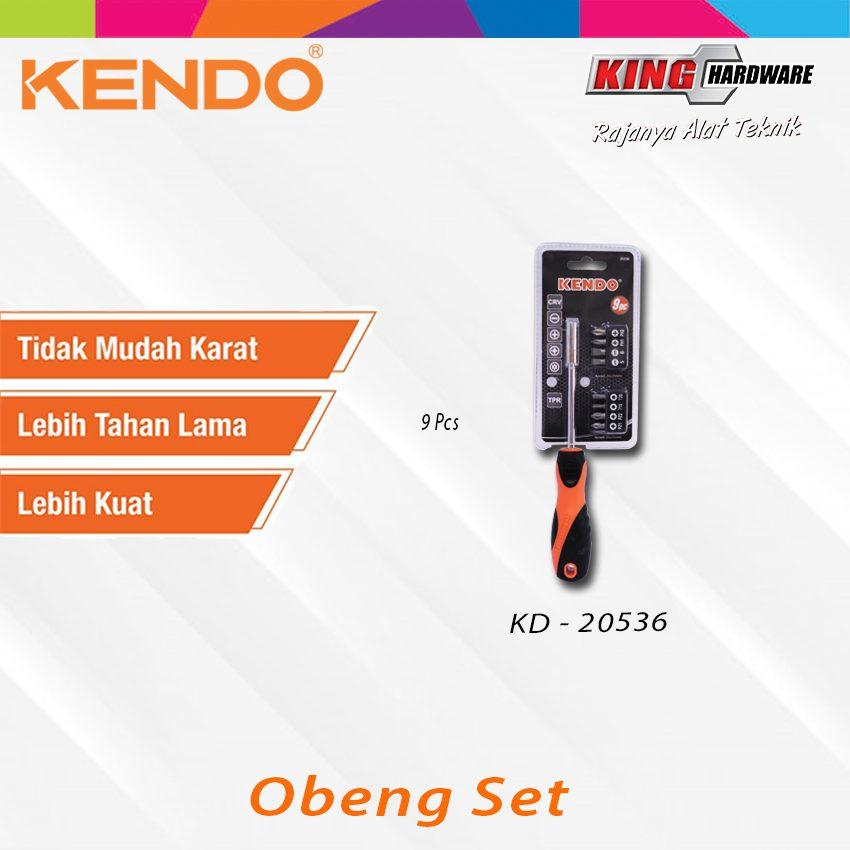 Obeng Set Kendo 9 Pcs (KD-20536)