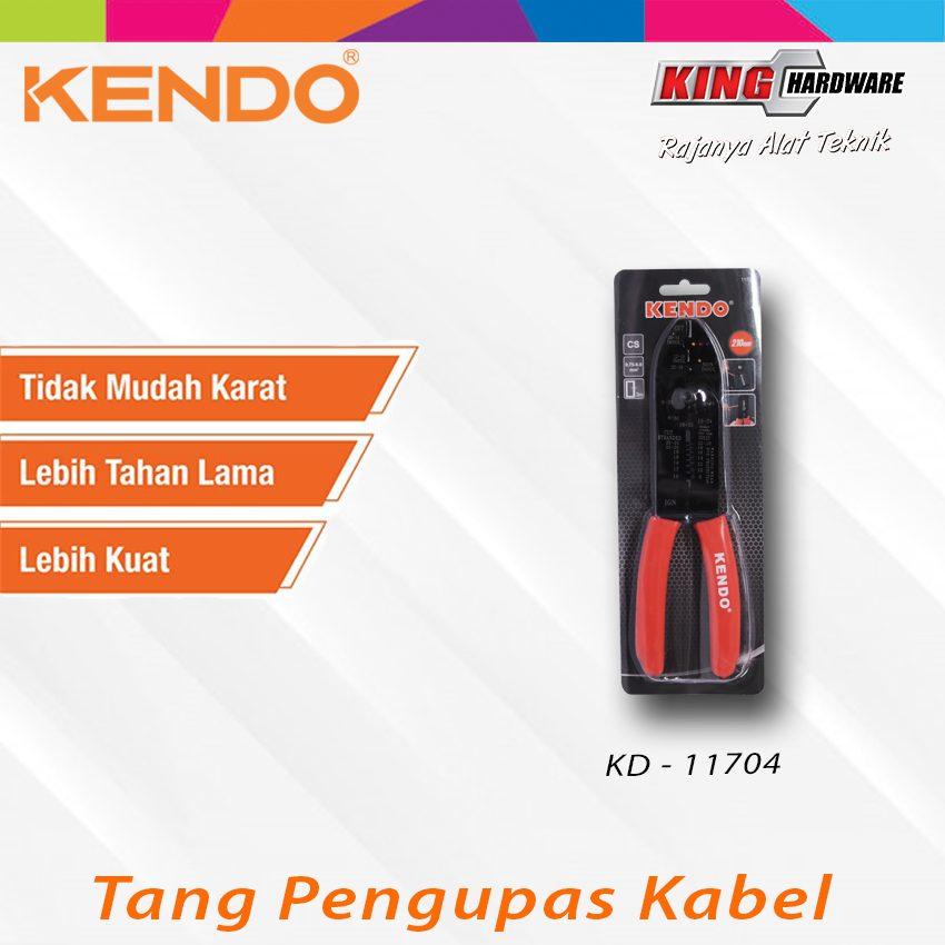 """Tang Pengupas Kabel Kendo 8""""  (KD-11704)"""