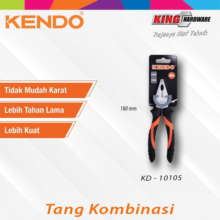 "Tang Kombinasi Kendo 7"" CVR (KD-10105)"