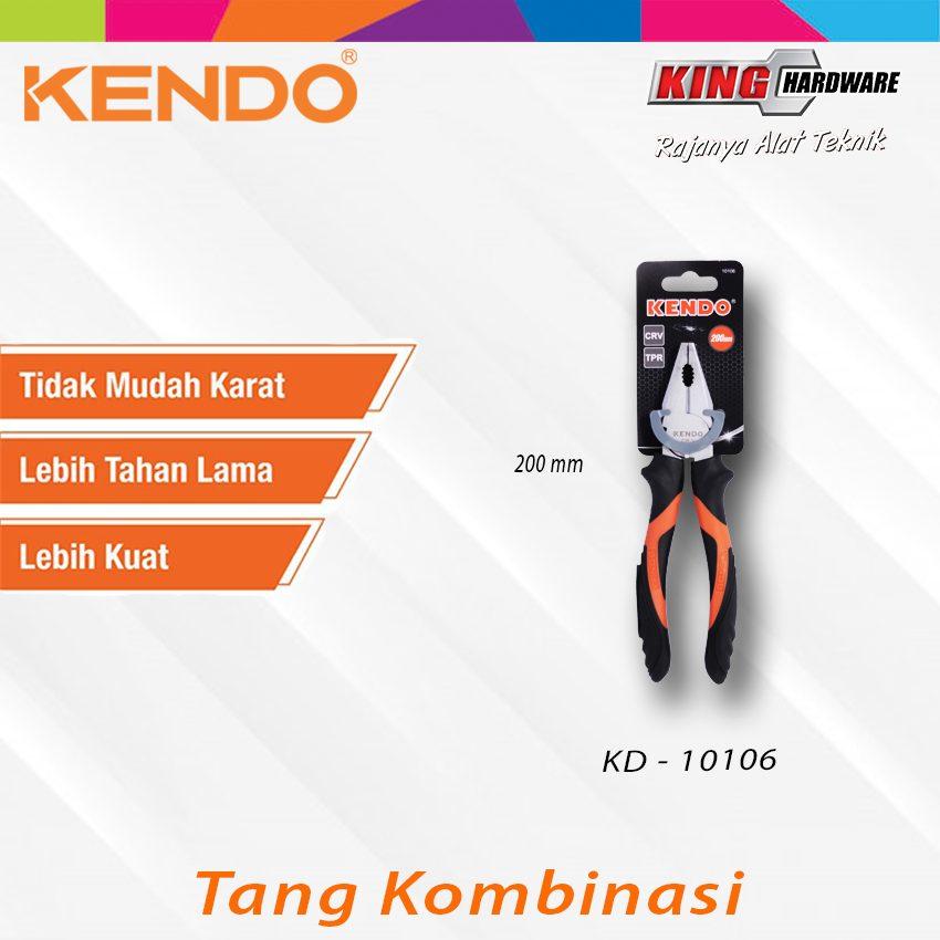 "Tang Kombinasi Kendo 8"" CVR (KD-10106)"