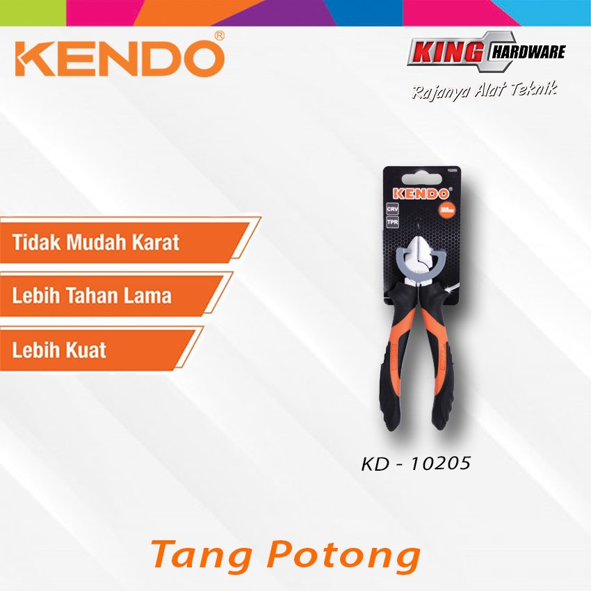 "Tang Potong Kendo 6"" CVR (KD-10205)"