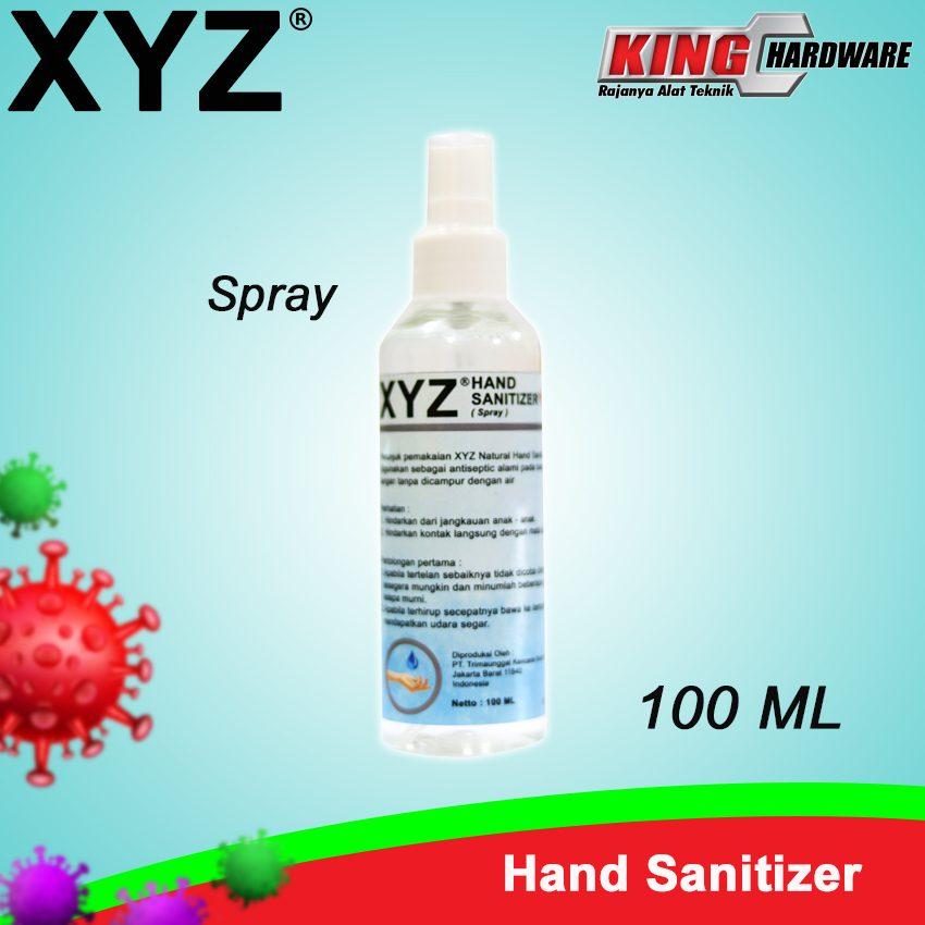 Hand Sanitizer XYZ 100 ml