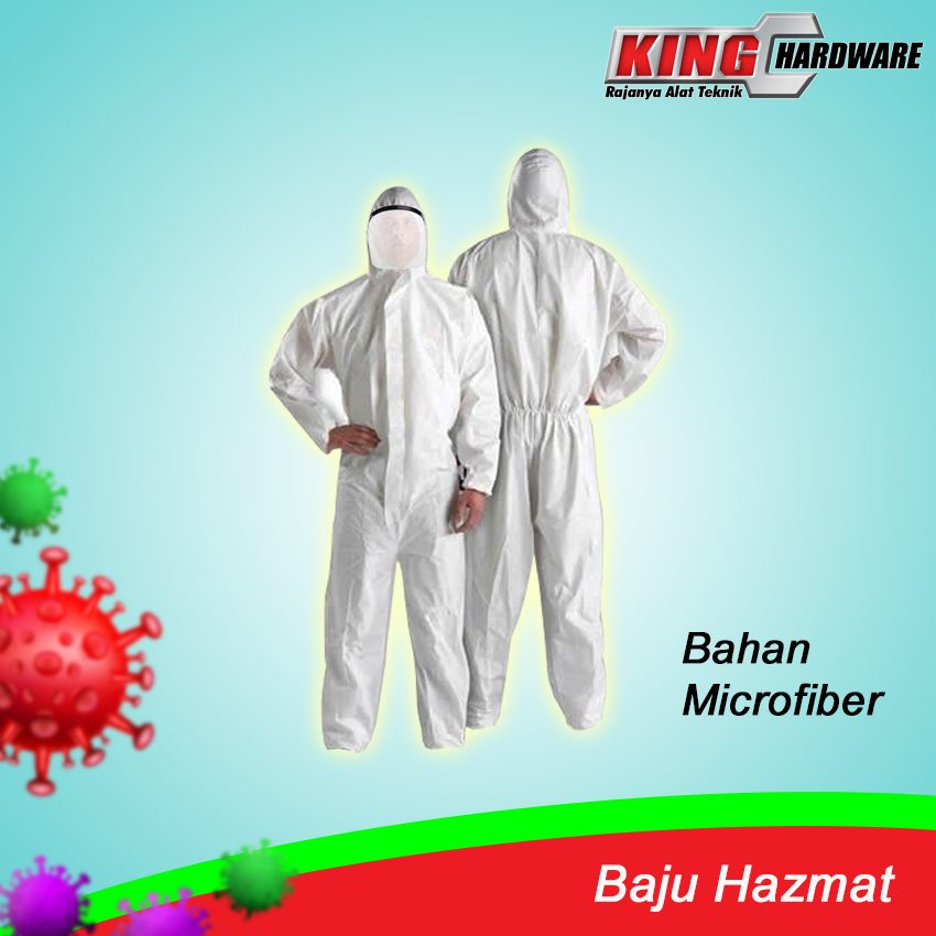 Baju Hazmat Microfiber