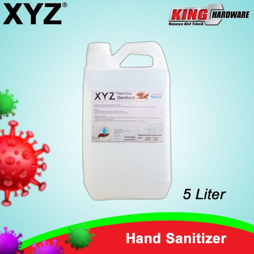Hand Sanitizer XYZ 5 Liter