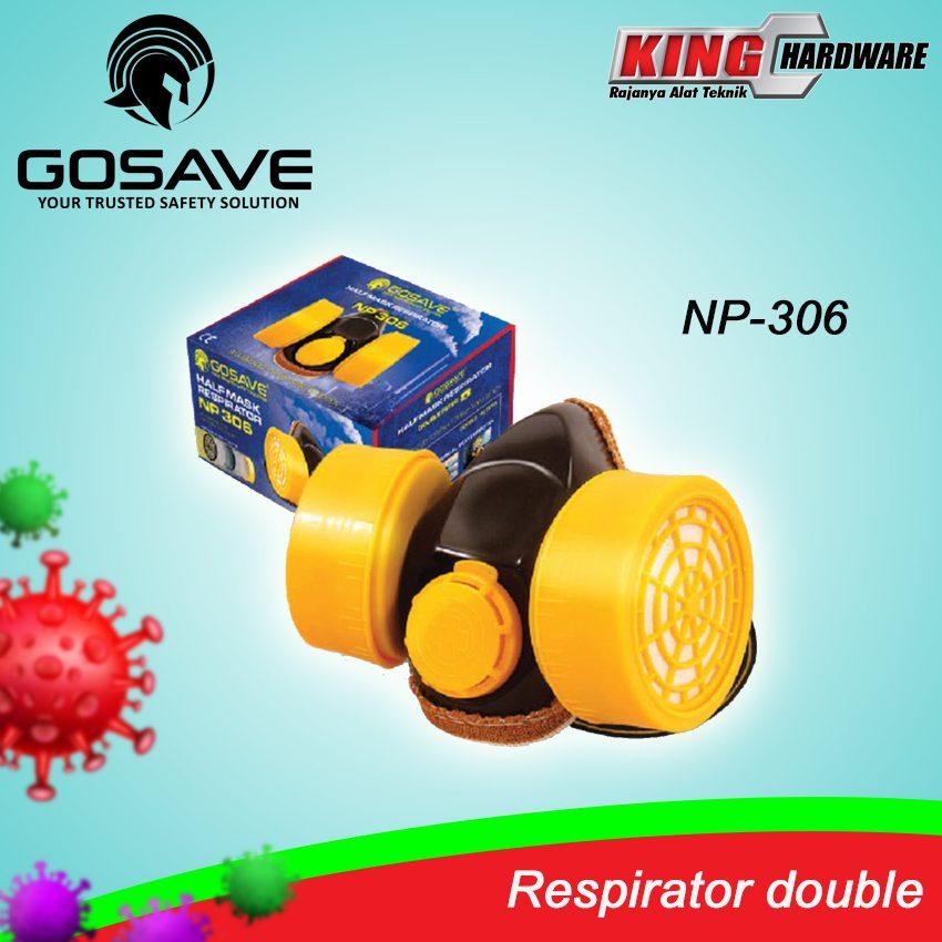 Respirator Double Gosave NP-306