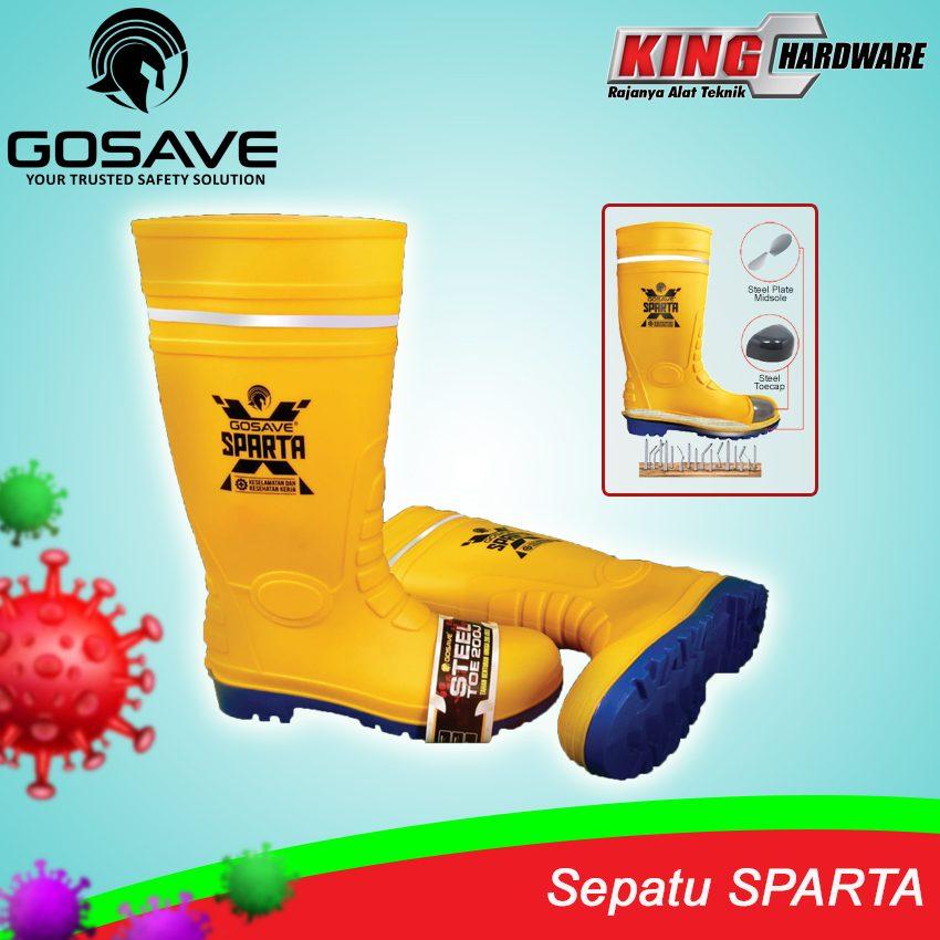 Sepatu Boot Spartax Yellow No.42